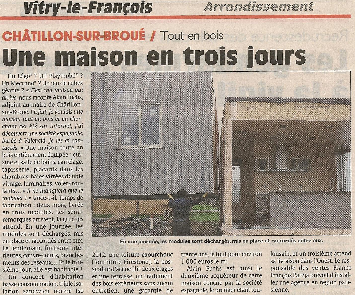 Châtillon-sur-Broué Maison Casas Natura