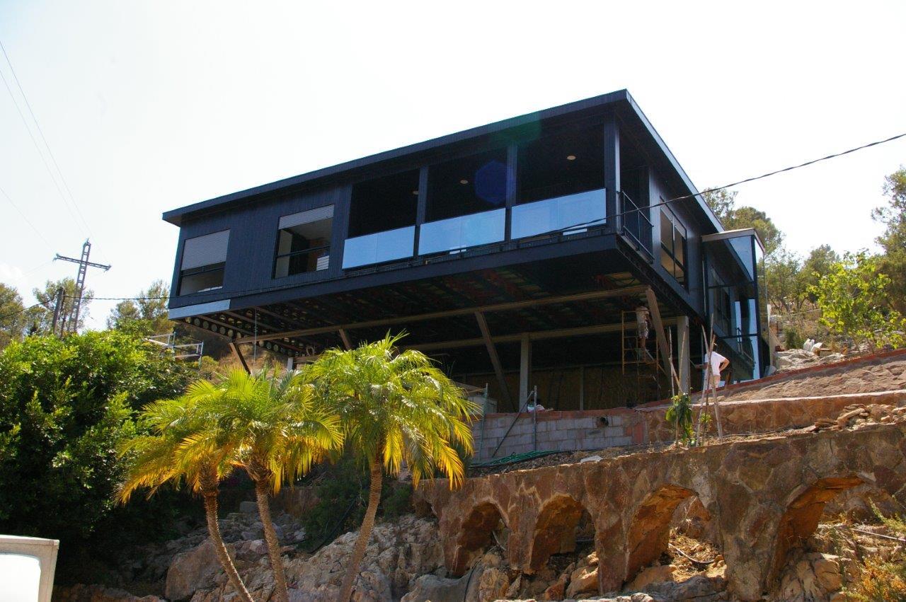 Maison Contemporaine En Bois à Gandia (Valencia)