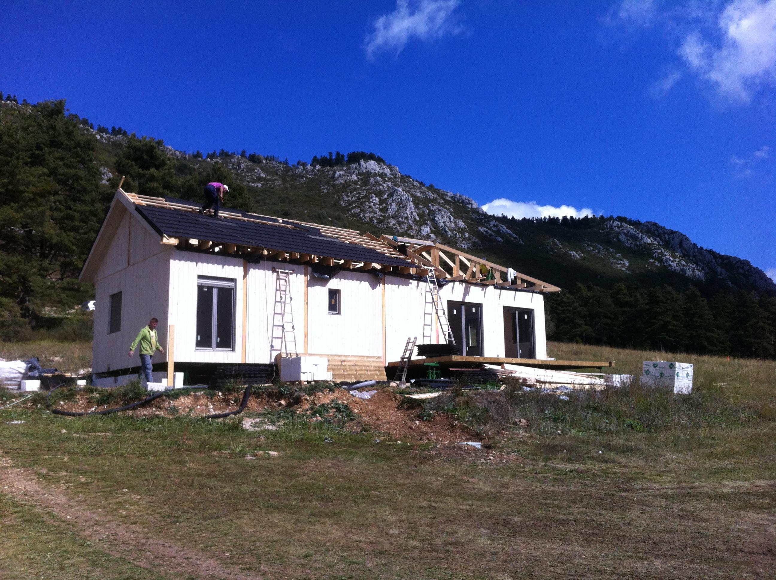 Maison En Bois Caille