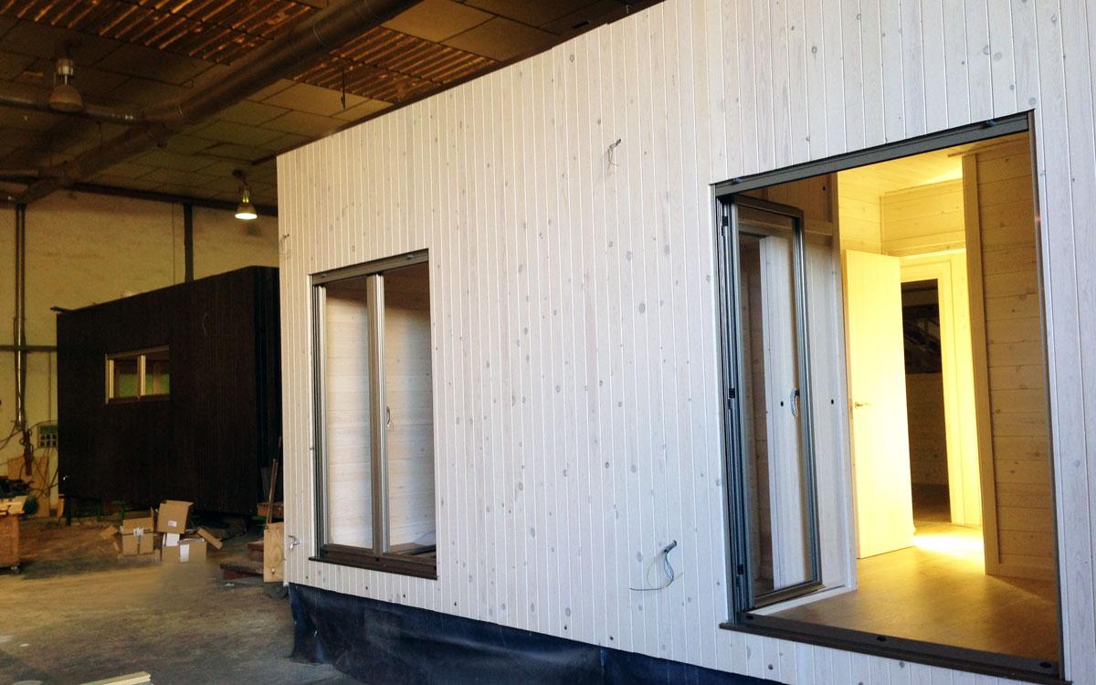 Construction Maison En Bois Natura Blu Duplex