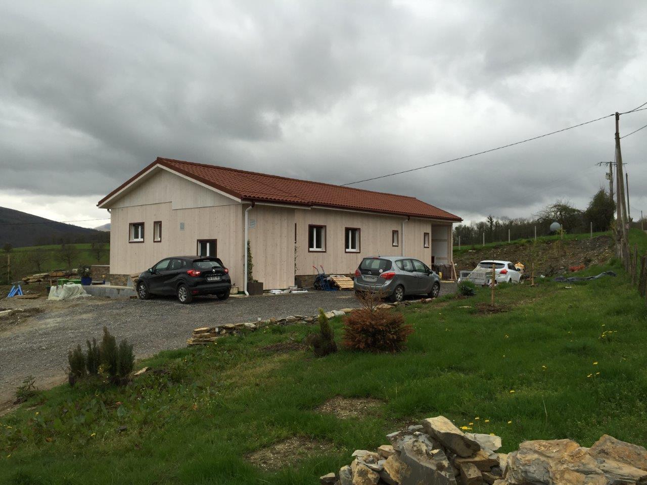 Visite Maison En Bois Modulaire Au Pays Basque Français