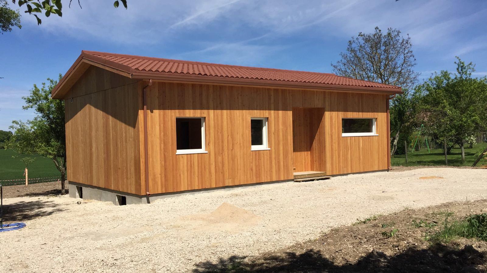 Maison En Bois Natura Vert à Châtillon-sur-Broué